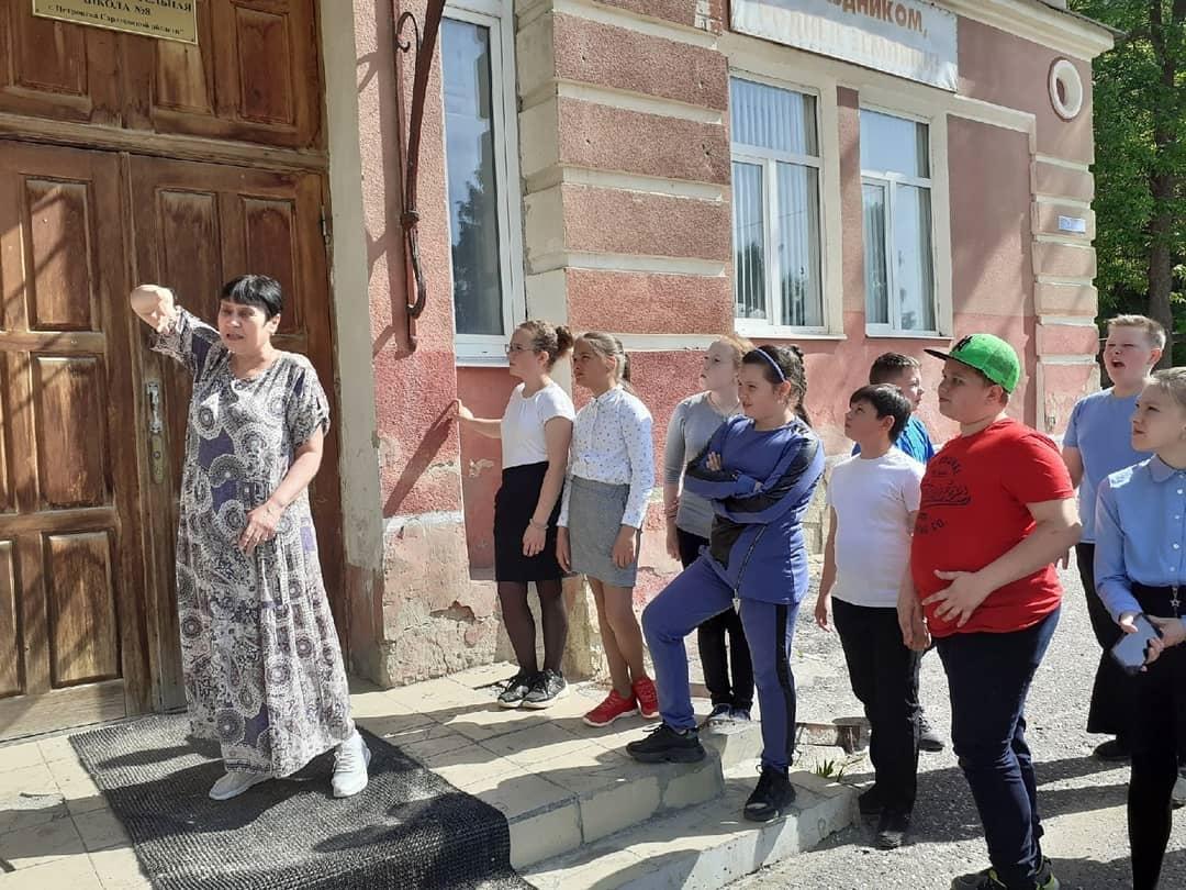 В школе №8 города Петровска продолжается реализация проекта Фонда президентских грантов