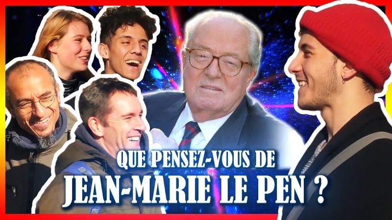 Que pensez vous de Jean Marie le Pen Micro Connard 21