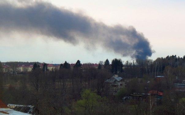 новая москва пожар сосенское фото предоставляется