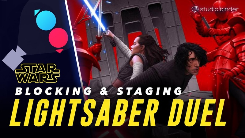 Star Wars Lightsaber Staging Camera Movement in The Last Jedi Battle Director s Playbook