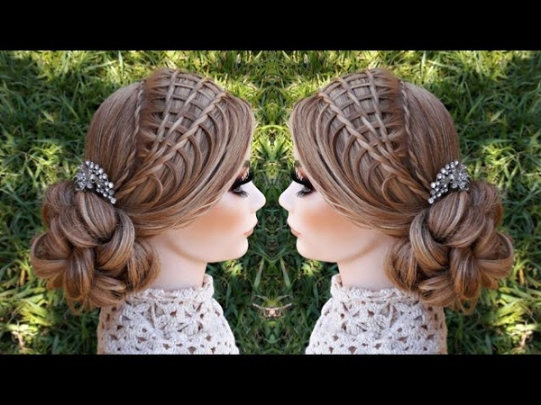 Recogido con trenzas | Peinados fáciles | La reina de las trenzas