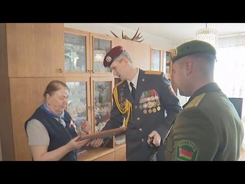 Отряды антитеррора Алмаз поздравили ветеранов с Днём Победы