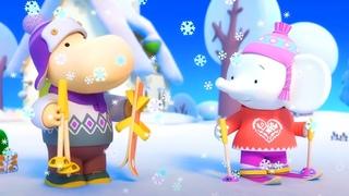 🌸 Тима и Тома – Серия 1 – Снежная история ❄️   Новый развивающий мультик для детей