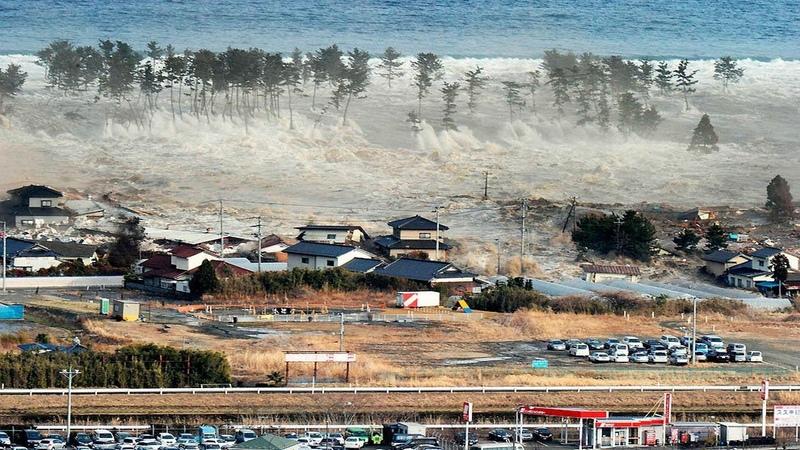 Самые большие волны цунами за последние 10 лет