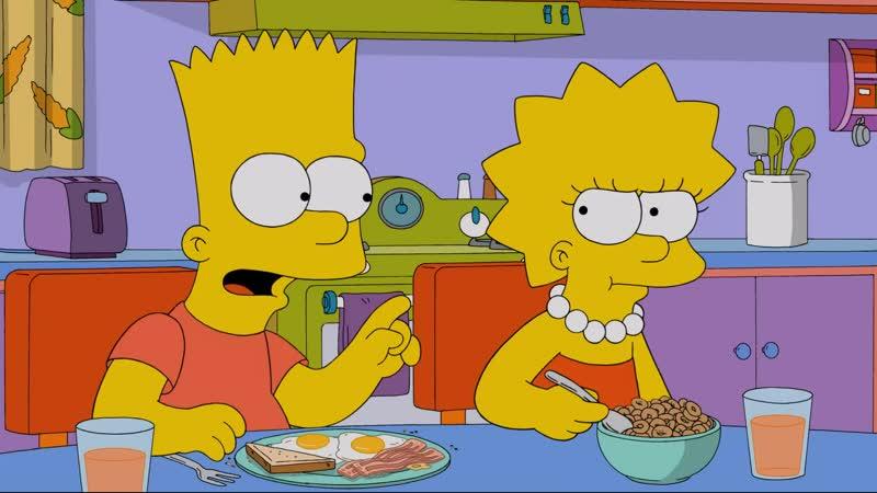 Чего притихла Может тебе мозг кроличьим заменили Симпсоны Барт НСВП