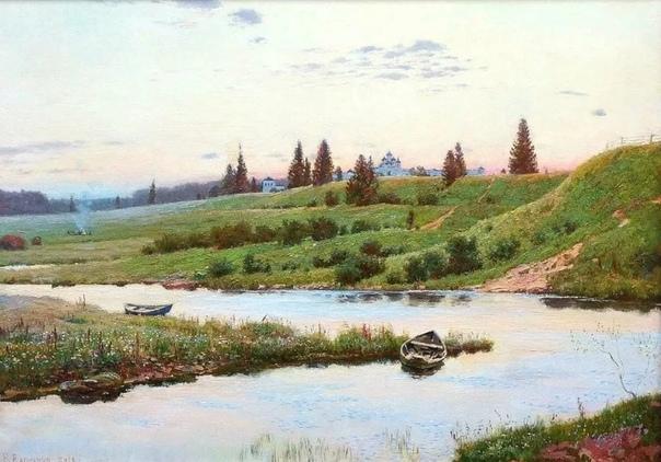 Художник Владимир Германович Вахмянин родился в июле 1959 года