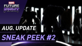 [MARVEL Future Fight] Aug. Update Sneak Peek #2