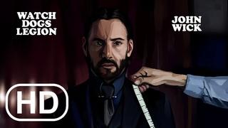 Watch Dogs Legion - John Wick Gameplay Club Scene