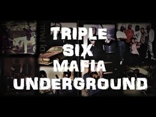 TRIPLE SIX MAFIA UNDERGROUND 93-95 MEGA MIX SKINNY PIMP PLAYA FLY PROJECT PAT GANGSTA BLAC MC MACK
