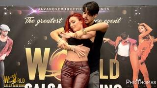 Maurizio Bollo & Simona [Jugando Amarnos] @ World Salsa Meeting 2019