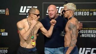 UFC 256: Битвы взглядов