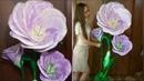 Ростовая ЭУСТОМА из изолона ростовой цветок как сделать бутон как сделать тонировку изолона колером