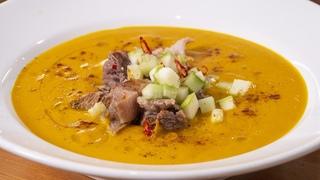 Такой суп вы никогда не готовили. Простейший рецепт, который порадует вашу семью. Морковный суп.