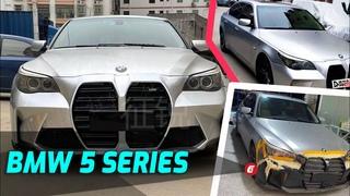 BMW 5 Series E60  Gets A 2021 M3 / M4 Double Coffin Grille Conversion