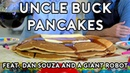 Binging with Babish Pancakes from Uncle Buck feat. Dan Souza and a Giant Robot