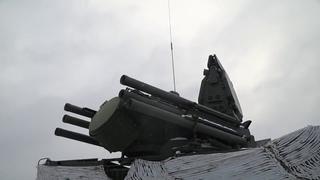 Совместная тренировка расчетов РЛС «Подлет-К1» и ЗРПК «Панцирь-С1» в Челябинской области