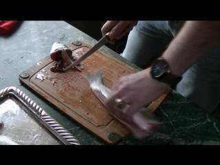 Настоящий финский филейный нож. Сделано В России. Дмитрий (китоврас)