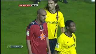 Season 2009/2010. CA Osasuna - FC Barcelona - 1:1