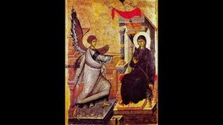 Акафист Благовещению Пресвятой Богородицы! С праздником Благовещения братья и сестры!☦