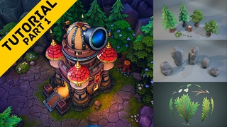 Creating a Stylized Environment: Part 1 [STYLIZED MODELING & SCULPTING IN MAYA/ZBRUSH]