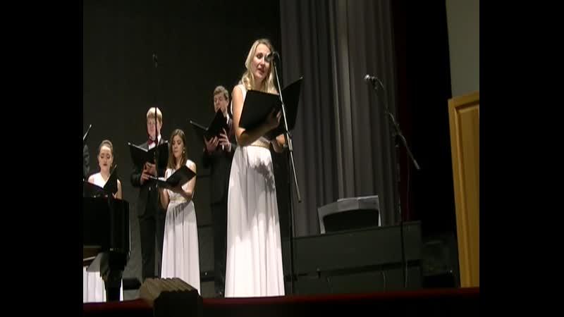 Hymn Mendelson F. Светлана Медведева орган Елена Поповская Маркелловы голоса