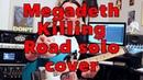 Megadeth Killing Road solo cover Axe FX III Fishman Fluence Classic