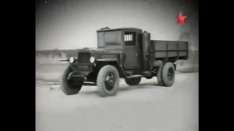 Урал ЗиС-352 автомобиль на дровах