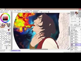 Speedpaint (Paint tool sai+2+ps6) Melkor