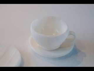 Tea Cup Tutorial Miniature Food Tutorial, Polymer Clay Tutorial