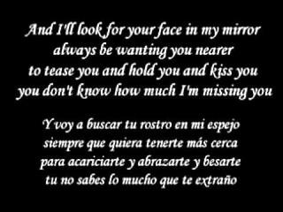 Ti amo - Umberto Tozzi English Version Letra y Traduccion