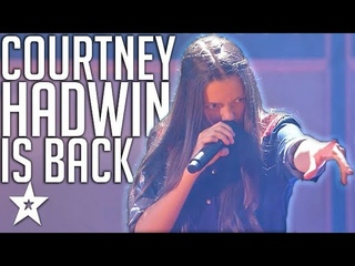 14 Y.O Rock Star Is BACK With An Original on AGT Champions   Got Talent Global