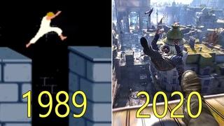 Evolution of Parkour in Video Games 1989-2020