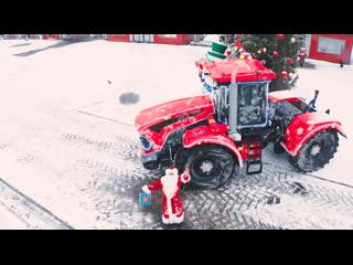Самые мощные сани для Деда Мороза!