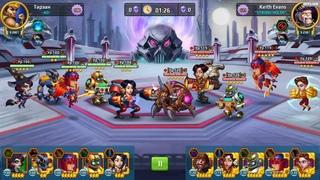 Raptor 🚀 100 lvl (Battle Arena Heroes Adventure)