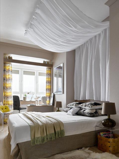 Солнечная квартира для семьи дизайнеров Марины Пенние и Романа Воронова