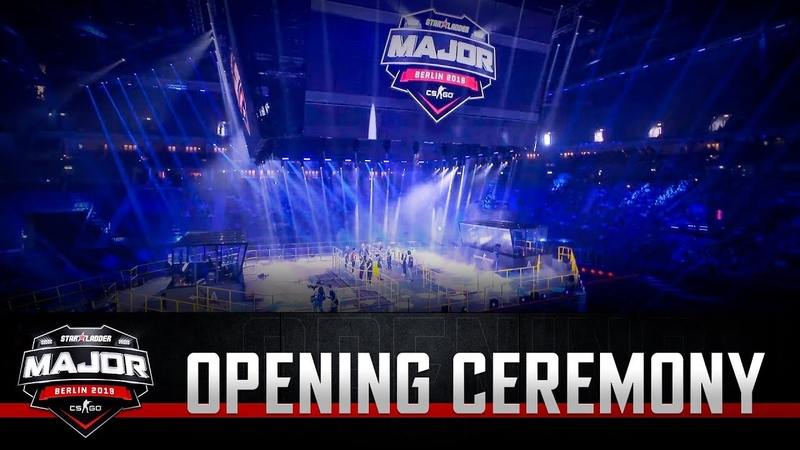 Opening ceremony StarLadder Major Berlin 2019 New Champions Stage