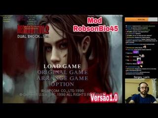 Прохождение Claire Mod Impossivel Resident Evil 2 PSX By RobsonBio45 Часть 1 На пролом