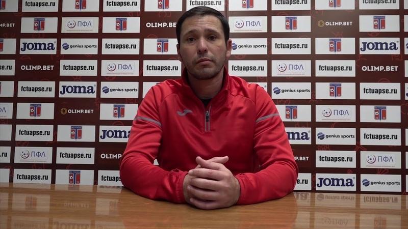 После матча Тимур Битоков