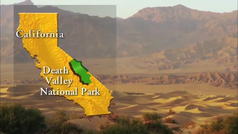 Тайна движущихся камней Долина Смерти в США Death Valley