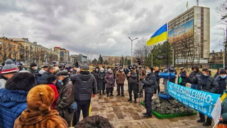 Мариуполь митинг  Антитарифный майдан! Против повышения цен на коммуналку