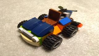 Лего самоделка/инструкция — Эклиона (особенная тачка) | Лего самоделки/инструкции