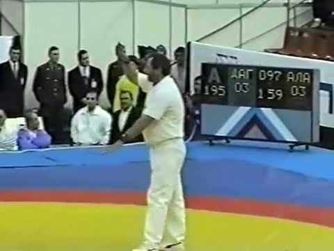 Taymazov Artur RUS Kuramagomedov Kuramagomed RUS 97 kg 2000 Chempionat Rossii