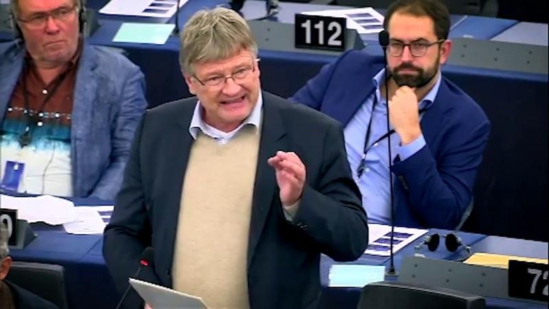 Hören sie auf die verlogene NAZIKeule gegen uns zu schwingen Prof Dr Jörg Meuthen AfD 22 10 2019