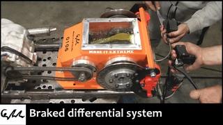 Making a differential braking tank transmission