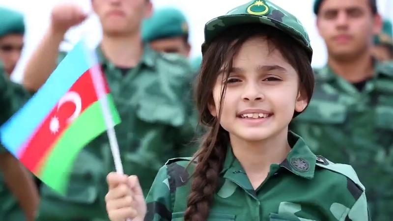 Ordumuzun igidleri Qarabagin zirvesine sanc bayragi igid esger