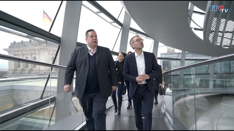 Herbert Kickl in Berlin Die schönsten Eindrücke vom Besuch bei der Alternative für Deutschland