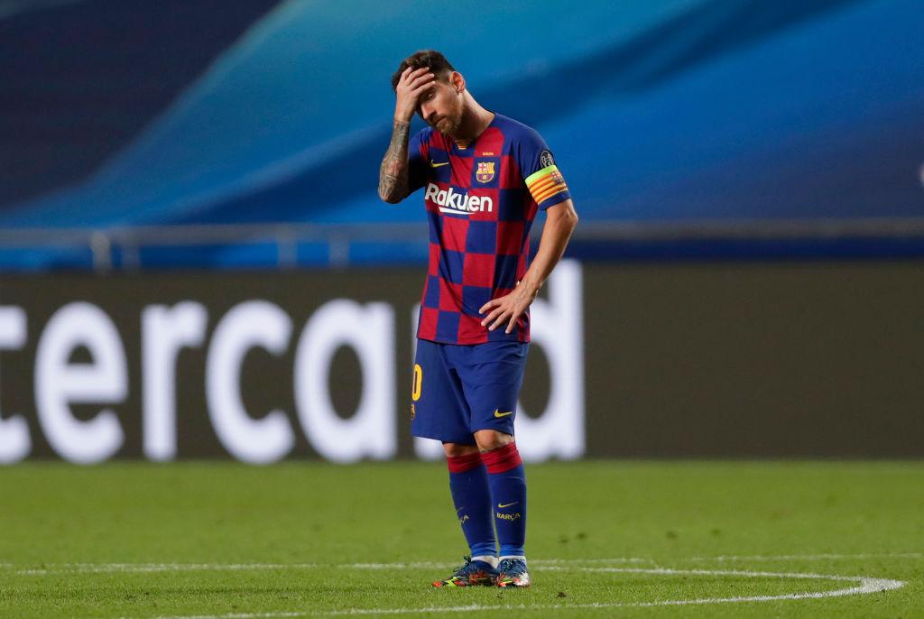 Барселона - Бавария, 2:8. Лионель Месси