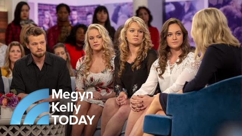 Willis Clan Describes Healing After Their Father's Sexual Abuse   Megyn Kelly TODAY