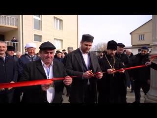 • Первая «мечеть-часовня-синагога» открылась в Дагестане.