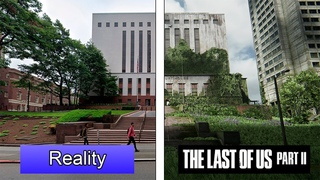 The Last of Us Part II VS Reality   Seattle City Comparison (Spoiler Free)